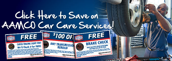 click here to save on AAMCO Car Care Services